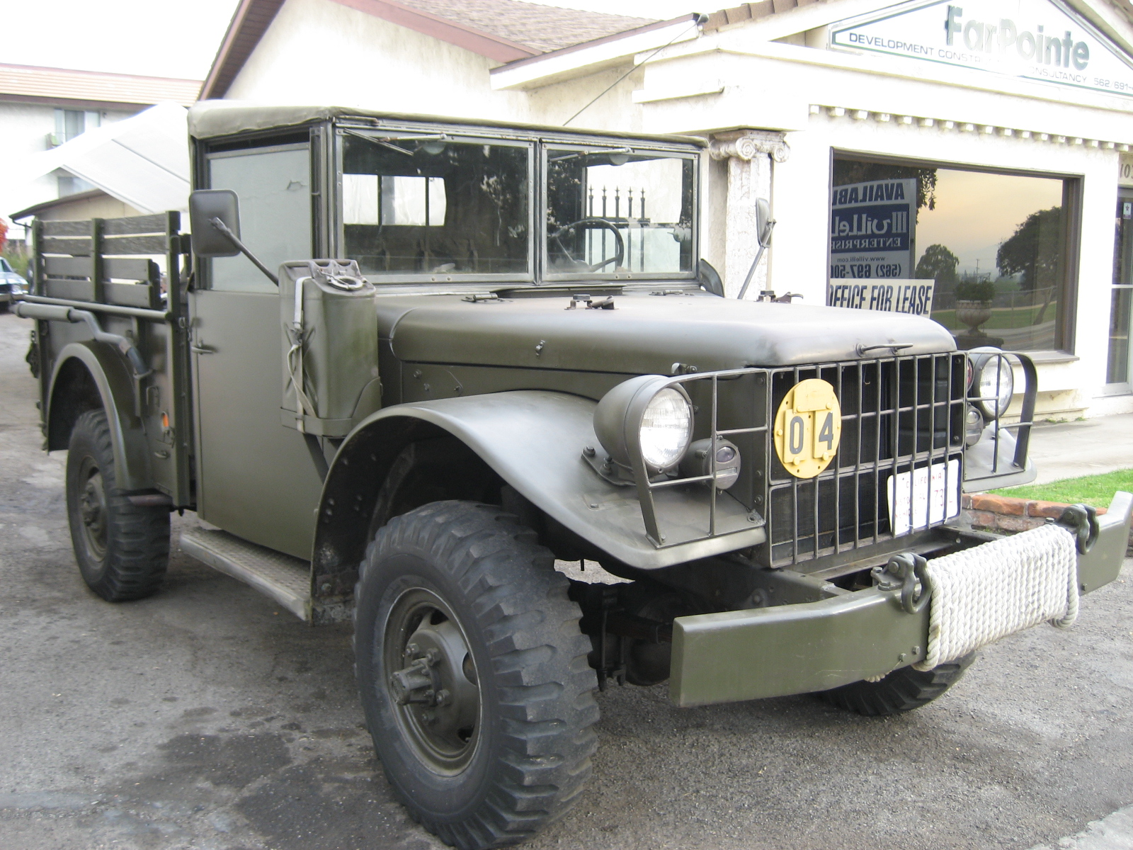 1953 m37 power wagon for sale phil newey sports cars. Black Bedroom Furniture Sets. Home Design Ideas