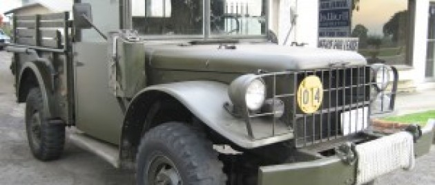 1953 M37 Power Wagon