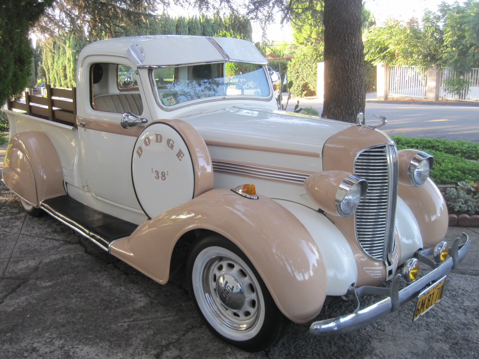 1938 dodge truck low rider for sale phil newey sports cars. Black Bedroom Furniture Sets. Home Design Ideas