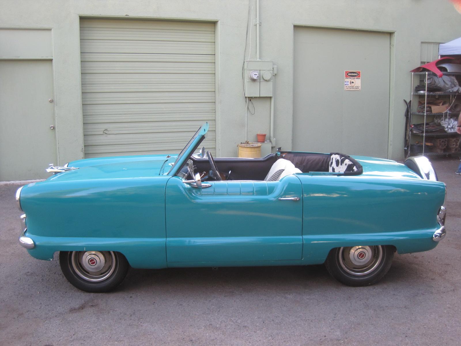 1962 nash metropolitan for sale phil newey sports cars V8 Nash Metropolitan img 1152